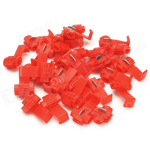 Splice rápida Fio Connectors - Red (30 PCS)