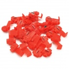 Quick Splice Wire Connectors - Red (30 PCS)