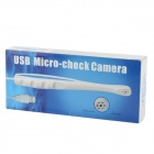 USB 1/4 CMOS Probe Format Dental Camera w/ 6-LED Illumination - White + Blue