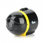 TREK Ai-Ball Mini Wireless WiFi CMOS IP Camera for Iphone / Android / Ipad - Black + Yellow