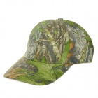 Print Pattern Outdoor Sunproof Canvas + Polyester Baseball Hat - Camouflage