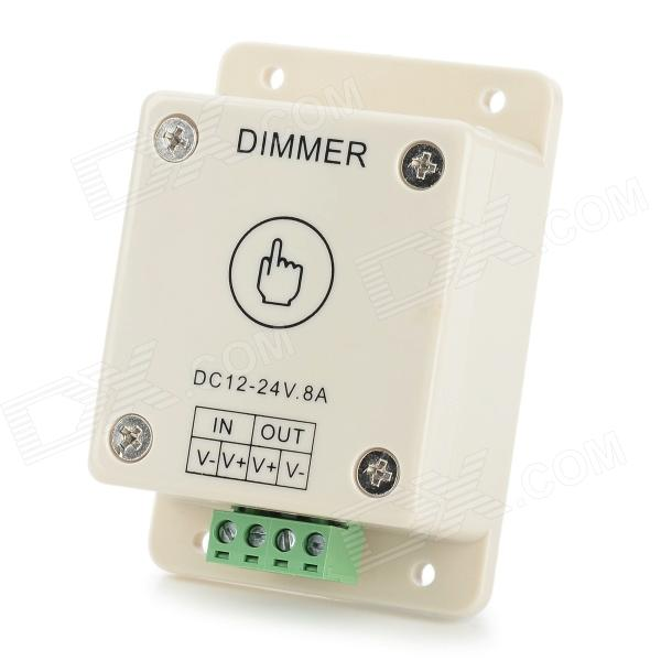 Touch LED-ljus Dimmer - ljus Khaki (12 ~ 24V)