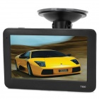 "T900 4.3"" TFT Win CE 6.0 Car GPS Navigator w/ 4GB Memory / Australia Map / FM - Black"