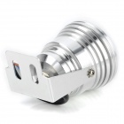 9W 320lm 3200K 3-LED teplá bílá Spotlight w / Optical Lens - Silver