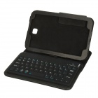 JK-PO50 Bluetooth V3.0 Keyboard w/ PU Leather Protective Case for Samsung Galaxy Note 8.0 - Black