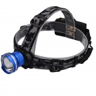 SingFire SF-601B 609lm CREE XM-L T6 LED 3-Mode Cool White Zooming Headlight - Blue + Black + Silver