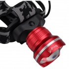 SingFire SF-601A 1000lm LED 3-mode blanc zoom phare-Rouge