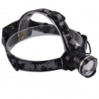 SingFire SF-601C 470lm CREE XM-L T6 LED Cool White 3-Mode Zooming Headlight - Black (2 x 18650)