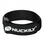 NUCKILY H649 Multifunctional Adustable Velcro Fixing Band / Strap for Bicycle Pump - Black