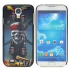 3D Pirate Skull Style Protective Plastic Back Case for Samsung Galaxy S4 i9500 - Multicolor