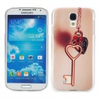 The Key of Love Style Protective Plastic Back Case for Samsung Galaxy S4 i9500 - Multicolor
