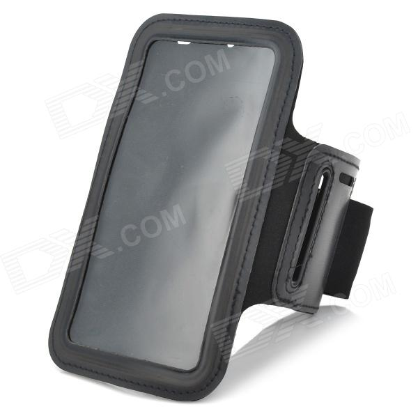 Stylish Sports Gym Nano Armband Case for LG Optimus G Pro F240K - Black sports stylish gym armband case for lg nexus e960 e970 optimus g black