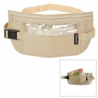 TravelIcons TF079L Travel Waterproof Anti-theft Cotton + PVC Waist Bag - Khaki
