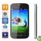 "Z.doxin MiniI9500 Android 4.2 GSM Bar Phone w/ 4.0"" Capacitive Screen, Wi-Fi and Quad-Band - Black"