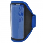 Stylish Sports Gym Armband Case for LG Optimus G Pro F240K - Blue + Black