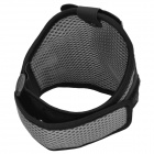 Sports Gym Mesh Fabric Armband Case for Samsung Galaxy S4 Mini i9190 - Grey + Black