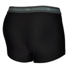 Naturehike Quick-drying Sports Men's Polyester + Spandex Underpants - Black + Deep Grey (Size L)