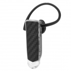 BINNLAI BL1 Stylish Bluetooth v3.0 Ear Hook Stereo Headset w/ Microphone - Black + Transparent