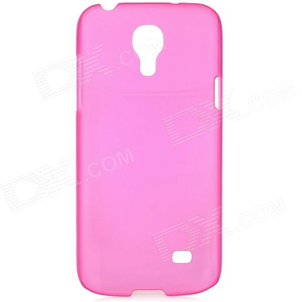 Ultrathin Protective PC Back Case for Samsung Galaxy S4 Mini i9190 - Translucent Deep Pink
