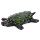 Soft Rubber Joke Sticky Tortoise Toy - Black