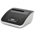 "UNITEK Y-3651 USB 3.0 SATA 2.5"" / 3.5"" HDD Docking w/ NAS Network Attached Storage - Black + Silver"
