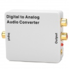Playvision HDA-2MB Digital to Analog Audio Converter / DAC Converter - White