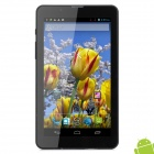 "MD700 7"" Dual Core Android 4.1 Tablet PC w/ 512MB RAM / 4GB ROM / 2 x SIM - Silver Grey + Black"