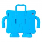 Multifunction Handheld Protective Plastic EVA Case Holder for Ipad 2 / 3 / 4 - Blue