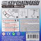 2*Game Cart Storage Slots Keychain for NDS/NDSi/NDS Lite (Black)