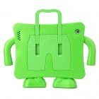 Multifunction Handheld Protective Plastic EVA Case Holder for Ipad 2 / 3 / 4 - Green