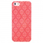 Protective Plastic Case for Iphone 5 - Red + White