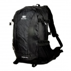 NatureHike-NH Outdoor Waterproof Polyester + Nylon Mountaineering Backpack - Black (38L)