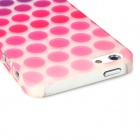 Dot Pattern Noctilucent Protective Plastic Case for Iphone 5