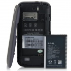 "S9300 Android 2.3.5 GSM Bar Phone w/ 4.0""Capacitive Screen, Quad - Band, Wi-Fi and TV - Black + Blue"