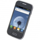 "S9300 Android 2.3.5 GSM Bar Phone w/ 4.0"" Capacitive Screen, Quad - Band, Wi-Fi and TV - Black"