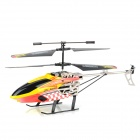 HUAJUN W908-7 2-CH Aluminum Alloy IR Remote Control R/C Helicopter - Red + Yellow + Black
