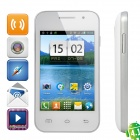 "Mini 7100 Android 4.1 GSM Smartphone w/ 3.5"" Capacitive Screen, Quad-Band and Wi-Fi - White"