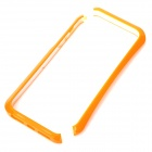Protective PC Plastic Baking Finish Bumper Frame for Iphone 5 - Orange