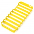 Hollow-Out Stair Style Protective PC Case for Iphone 5 - Yellow