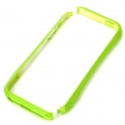 Protective Plastic Baking Finish Bumper Frame for Iphone 5 - Green