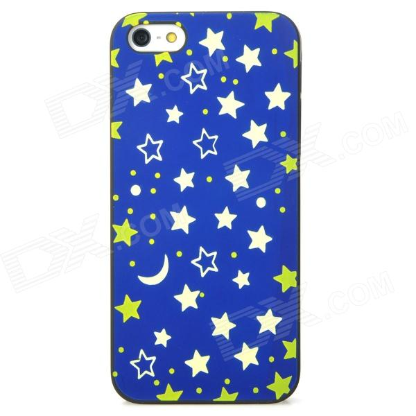 Noctilucent Embossed Starry Sky Pattern Protective Plastic Case for Iphone 5 - Blue + Green - DXPlastic Cases<br>Brand N/A Quantity 1 Piece Color Blue + green Material Plastic Type Back Cases Compatible Models Iphone 5 Other Features Allows full access to all ports and buttons; Protect your cell phone from scratches dust and shock Packing List 1 x Case<br>