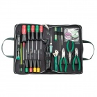 Pro'skit 1PK-813B Basic Electronic Tool Kit - Green (23 PCS / 220V / Metric)