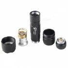 UltraFire 502B 600lm 1-Mode Neutral White Flashlight w/ Cree XM-L2-T6, Clip - Black (1 x 18650)