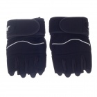 Xinluming XLY209 Professional Anti-Skid Fitness Half-Finger Gym Gloves - Black (Size-L / Pair)