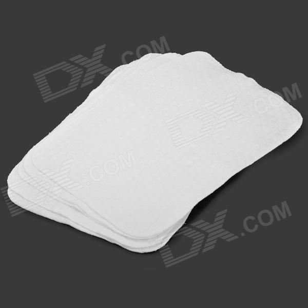 9017 Reusable Cotton Diaper for Baby - White (5 PCS)