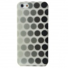 Black Dot Pattern Noctilucent Protective Plastic Case for Iphone 5