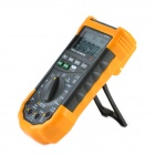 "YeHai YH-129 2.4"" LCD 5-in-1 Digital Multimeter - Orange + Deep Grey (3 x AAA)"