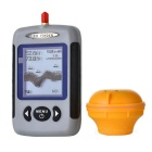 WOL13 2.5'' Dot Matrix FSTN LCD Wireless Sonar Fish Finder - Black + Grey