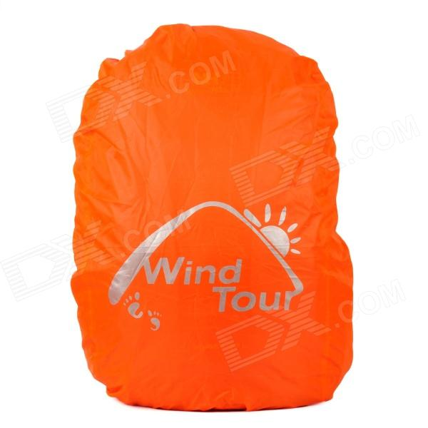 Wind Tour Outdoor Mountaineering Waterproof Nylon Rain Cover for Backpack - Orange (15~35L)