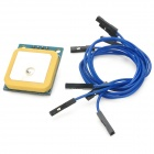 Ulbox ATK-NEO-6M-V12 GPS Module w/ 5Hz Antenna - Blue + Yellow
